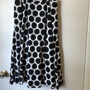 Full linen skirt
